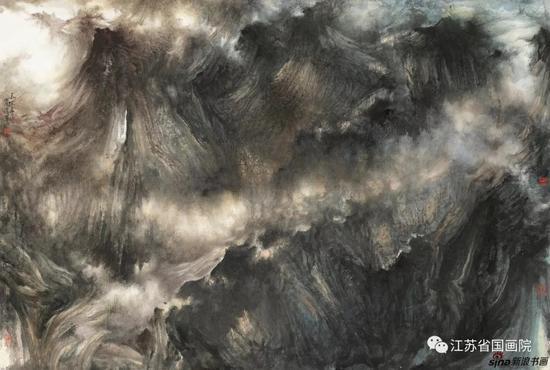 杨耀宁 《天际苍茫》 124cm×183cm