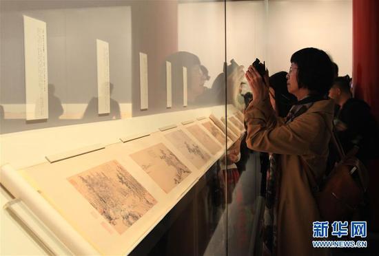 李白唯一存世书迹《上阳台帖》故宫展出