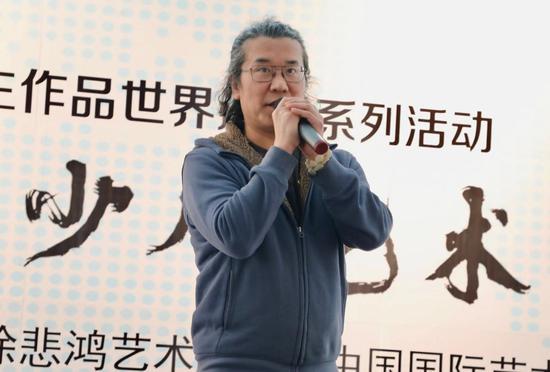 徐悲鸿大师的第四代弟子、著名青年油画家韩学军