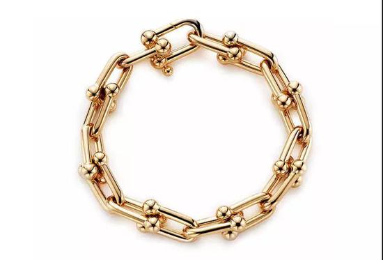 Tiffany Hardwear 系列链环手链