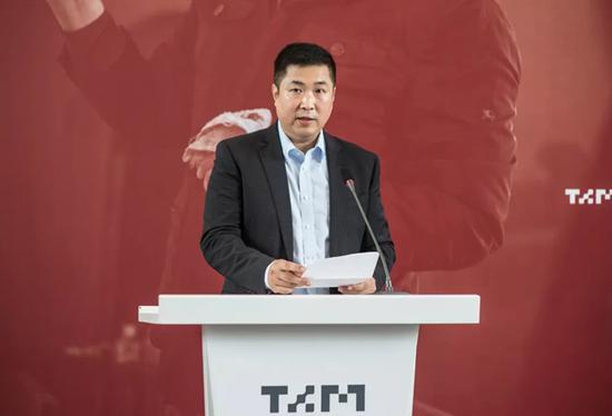 清华大学美术学院副院长 杨冬江主持开幕式