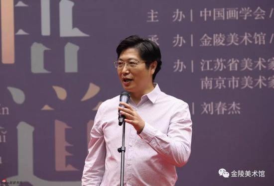 南京市文广新局局长刁仁昌致辞