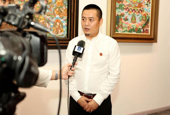 中国民族贸易促进会非遗工作委员会主任董策力