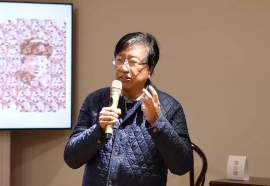上海视觉艺术学院美术学院院长 朱刚先生 致开幕词