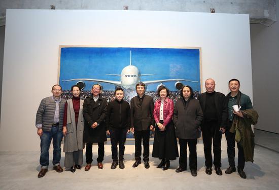 贺丹同名个展在北京民生现代美术馆开幕