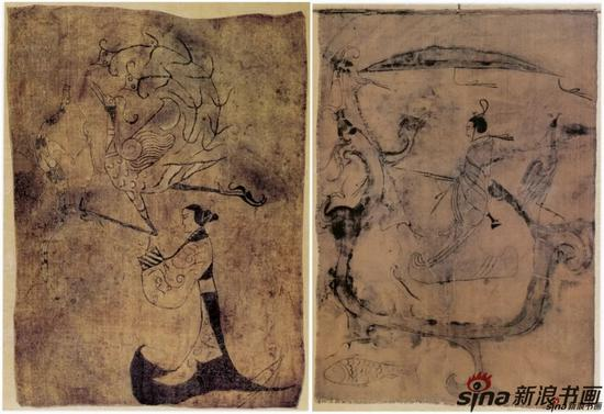 [战国]人物帛画