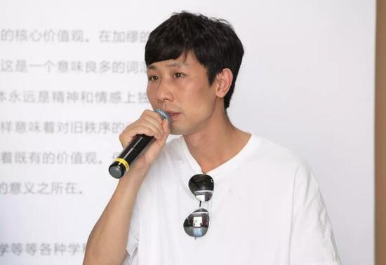 艺术家 葛辉发言