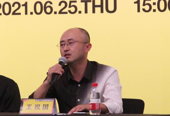 青島黃盒子美術館執行館長王祝國