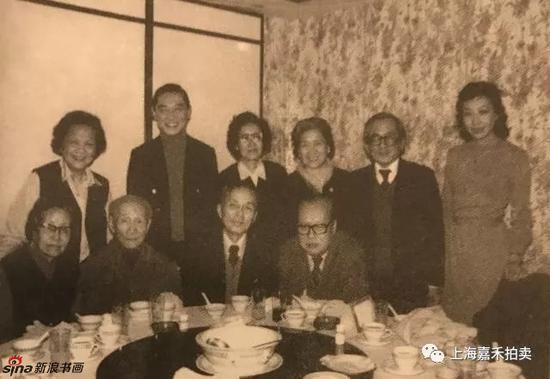 70年代林风眠、傅聪(傅雷之子)、赖少其等摄于香港