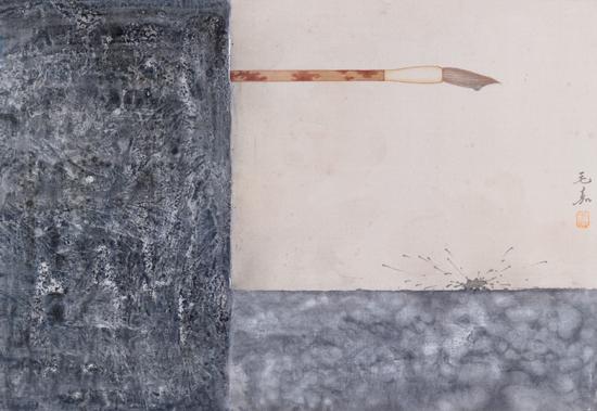 """明天就是今天——青年艺术家八人展""""在北京市新水墨画院展出"""