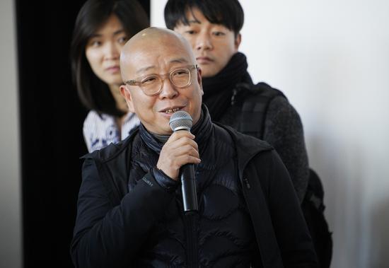 本次参展艺术家代表萧昱致辞