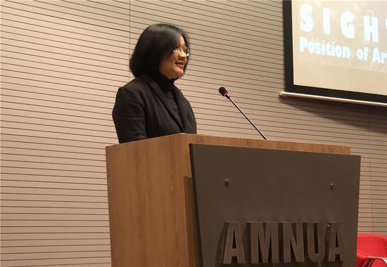 歌德学院(中国)徐央央女士