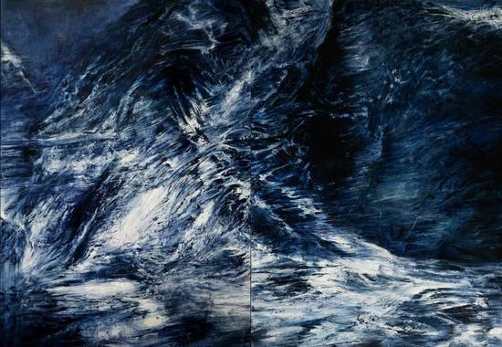 孙尧 星迹 To the Stars no.16 220x320cm 布面油彩 Oil on canvas 2015