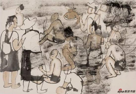 2016隋牟金沙滩写生作品