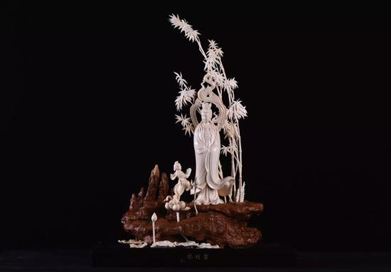《妙象——猛犸象牙雕刻展》展品