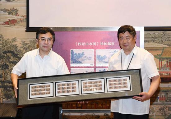 中国邮政集团广发证券 董事长刘爱力(左)