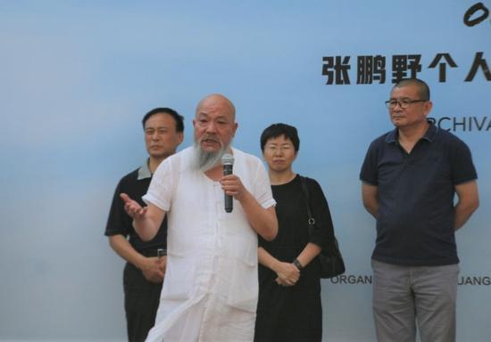 宋庄新的社会阶层人士联谊会监事长安云霁开幕致辞
