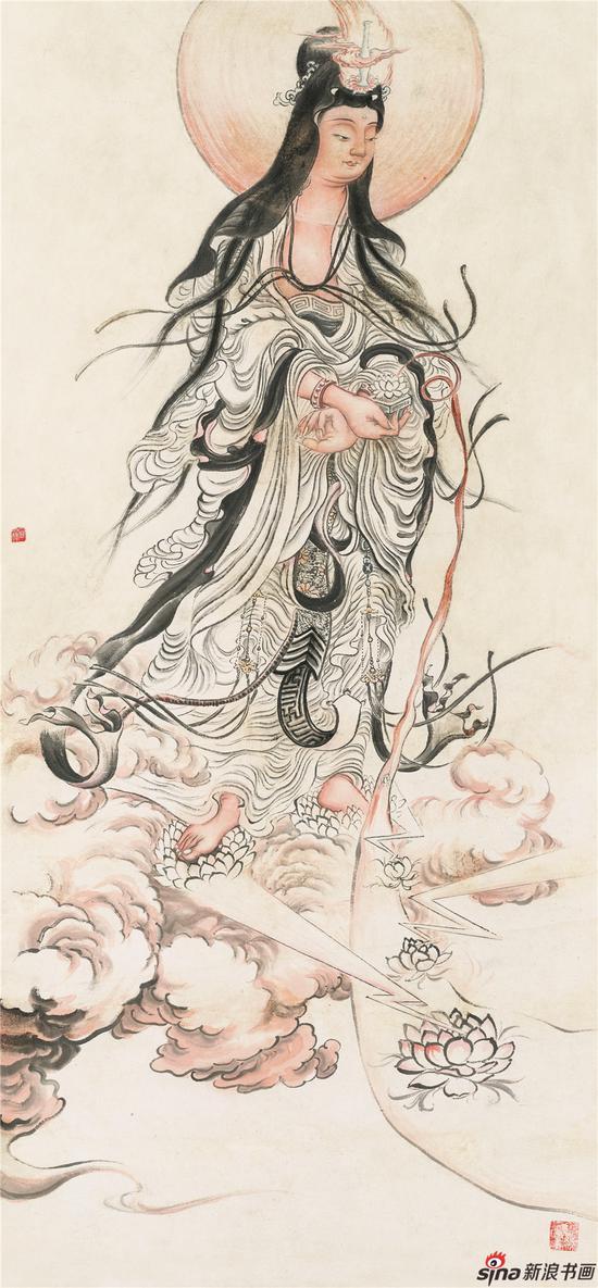 圆霖法师在南京南视觉美术馆举行个展