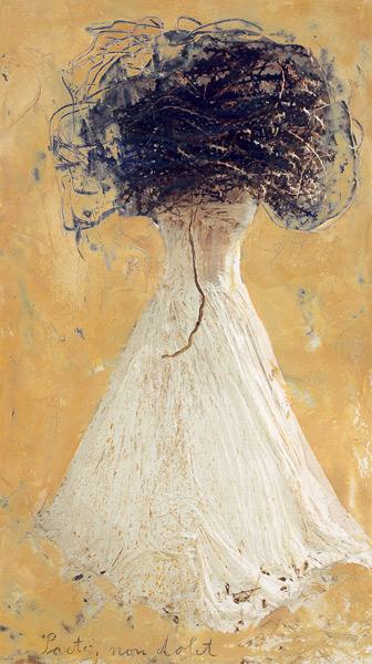 古代女子,2004,纸上的混合科技,140cm×94.5cm,MAP 收藏