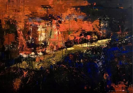 《空·境》之醉相思 陳海燕 油畫