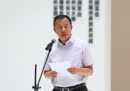 吉林艺术学院院长郭春方教授致开幕词