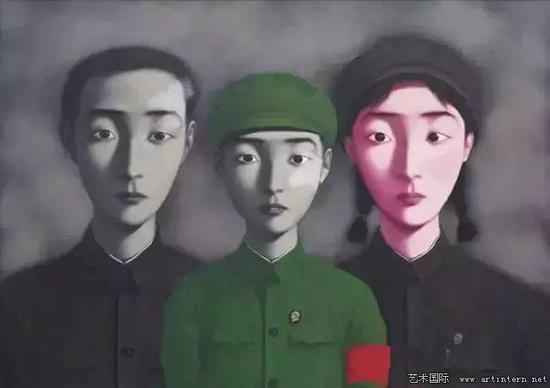 张晓刚《血缘:大家庭3号》