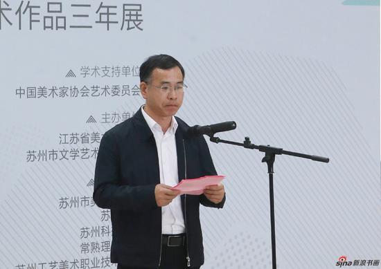 中共苏州市委宣传部副部长黄锡明致辞