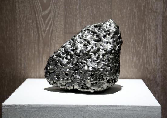 《沉甸甸的不朽03》磁铁矿石 不锈钢电焊条 2016-2017