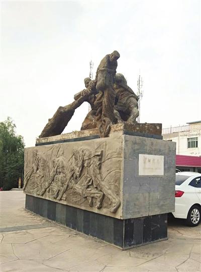 公共雕塑掉色银川市民建议尽快补