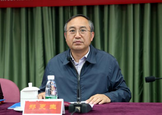 中国摄协分党组书记、驻会副主席郑更生致辞