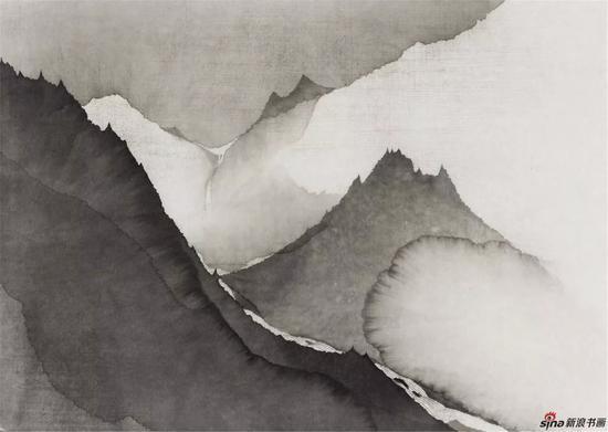 山 43×62cm 纸本水墨 2018