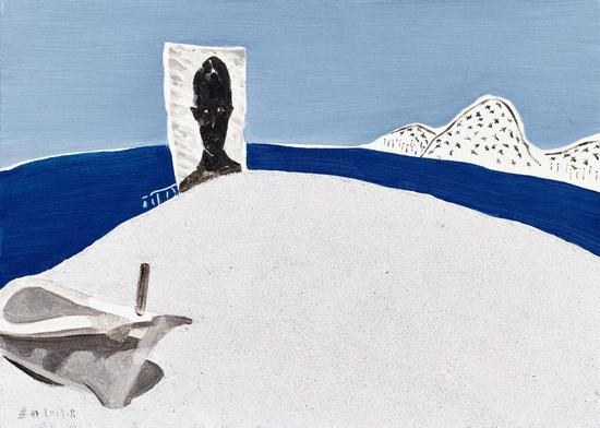 004 金田 Jin Tian丨窗外悠扬之八 Melody Outside the Window No.8丨布面油画 Oil on Canvas丨50×70cm丨2016