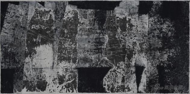 纸上水墨No.026 140x70cm 2014