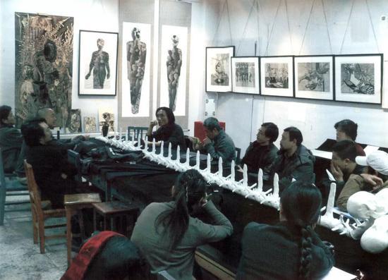 2005年版画系会议现场