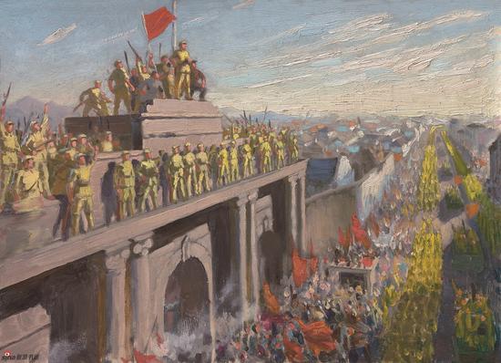占领南京(小草图) 1970