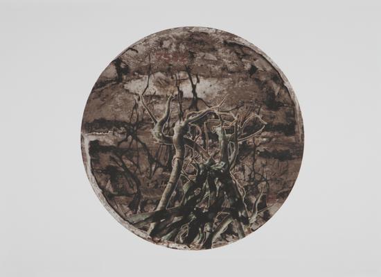 2011年《天下普洱》之一 铜版 45x45cm 李宝泉