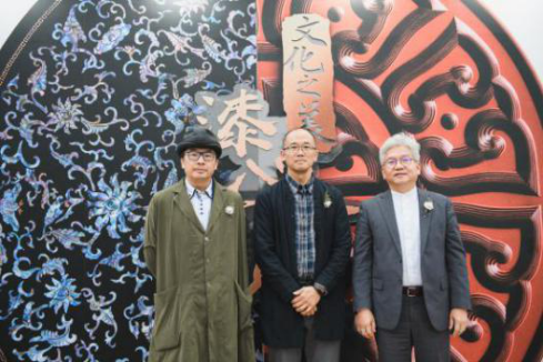 苏丹教授,汤海涛教授,高祥钦先生共同宣布清华大学雪花秀非遗保护基金2019年度项目
