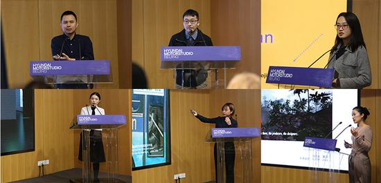 六位入围选手分别演说策展方案