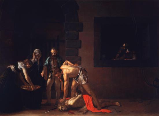 《召唤圣马太》 卡拉瓦乔,1599—1600 布面油画 322厘米×340厘米 圣王路易堂,意大利罗马