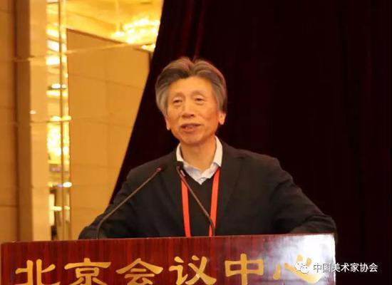 中国美协主席范迪安致辞