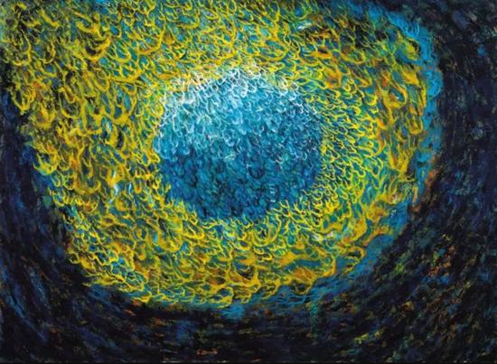 《眸》 110cm*150cm 布面油画 2014