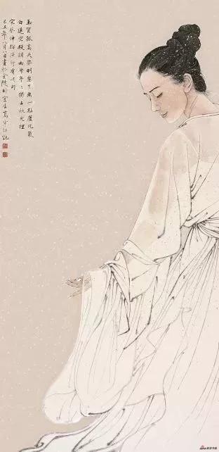 《了无一点尘凡气》68cmx136cm (入选第九届中国艺术节)
