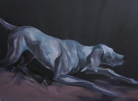 无名者肖像·5 刘纪生 布面油画 60cmx80cm 2017年