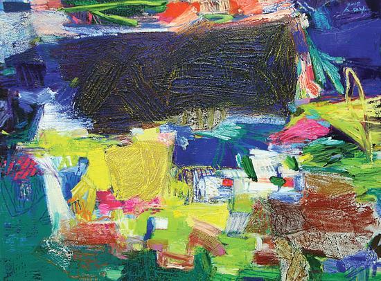 苏英兰(韩)《the memory》145x112cm, oil on canvas, 2017