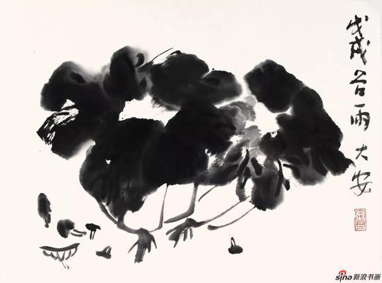 安君作品《蔬香》 46×35cm 2018年
