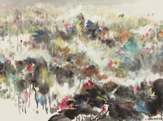 《秋水荷池》2002