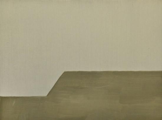 ? 高航,每一间我能住得起的公寓看起来都一样, 2018, 布面油画, 30.5 x 40.5 cm