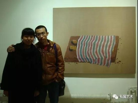 刘智峰夫妇 一对青年艺术家北漂