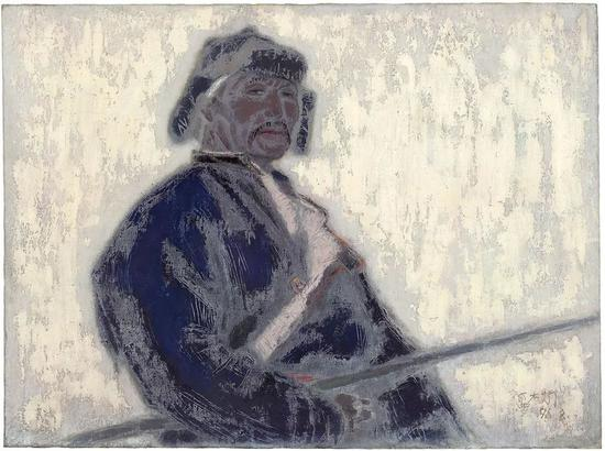牧人 布面油画 97x130cm 1996年