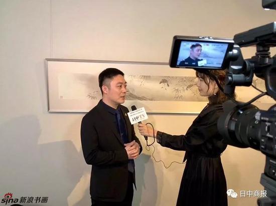 """""""梵心·所向-杨立奇工笔花鸟画东京展""""在日中友好会馆举行"""